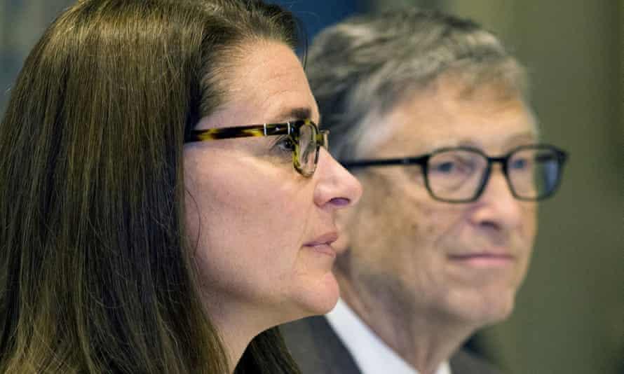 Melinda French Gates and Bill Gates