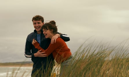 Paul Mescal and Daisy Edgar Jones in Normal People on BBC Three and iPlayer.