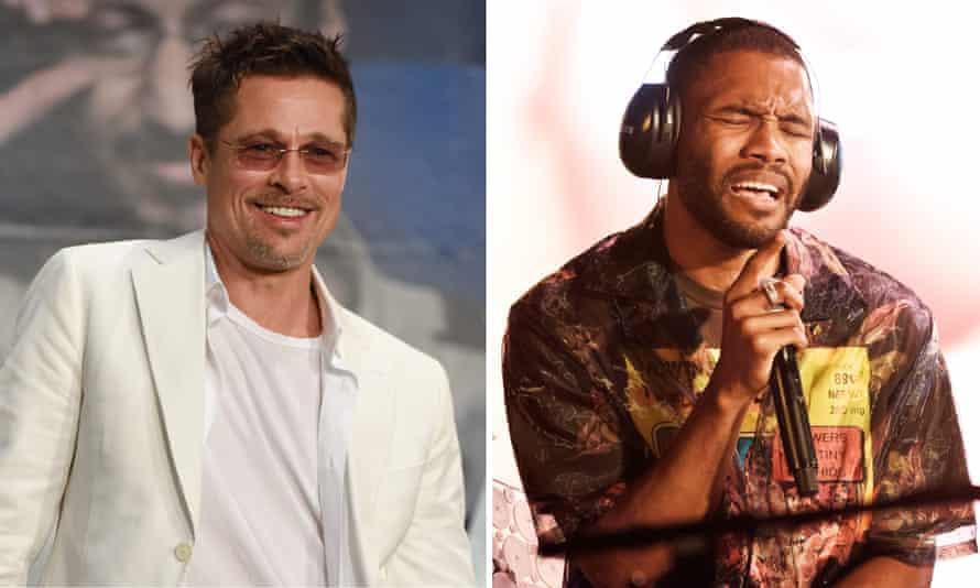 Brad Pitt and Frank Ocean