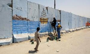 wall Baghdad