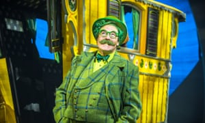 Rufus Hound as Mr Toad in The Wind in the Willows.