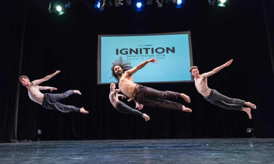 """Salah El Brogy's The Race"""" Unplugged at Ignition 2018."""