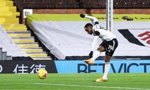 Ademola Lookman of Fulham opens the scoring.