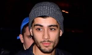 Zayn Malik in New York in November.