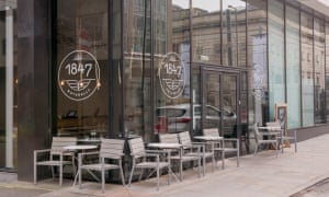 Exterior of Bistro 1847 in Manchester