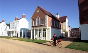 Masterpiece or carbuncle? Poundbury, Dorset – a 'traditional' village inspired by the Prince of Wales.