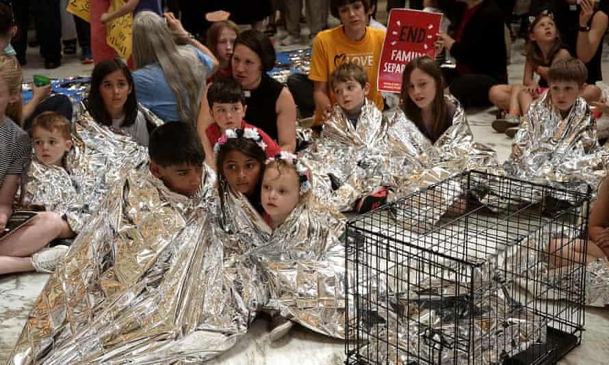 Children protest family separation