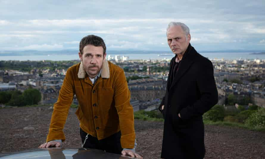 Big brother is watching you ... Mark Bonnar and Jamie Sives in Guilt.