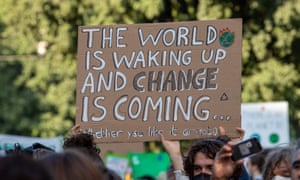 Climate strike In Milan, Italy - 1 October 2021. Photograph by Alexander Pohl/NurPhoto/Rex/Shutterstock