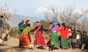 Discover Binsar with Village Ways a wedding party
