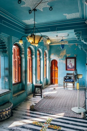 The Queen's Chamber in Udaipur's City Palace