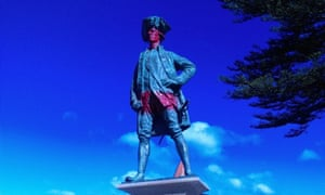 Captain Cook statue