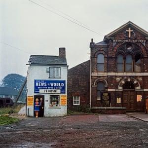 Mr & Mrs Hudson, Wednesday 14 August 1974, 11am. Seacroft Green, Leeds.