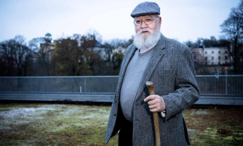 Daniel Dennett in Stockholm, Sweden.