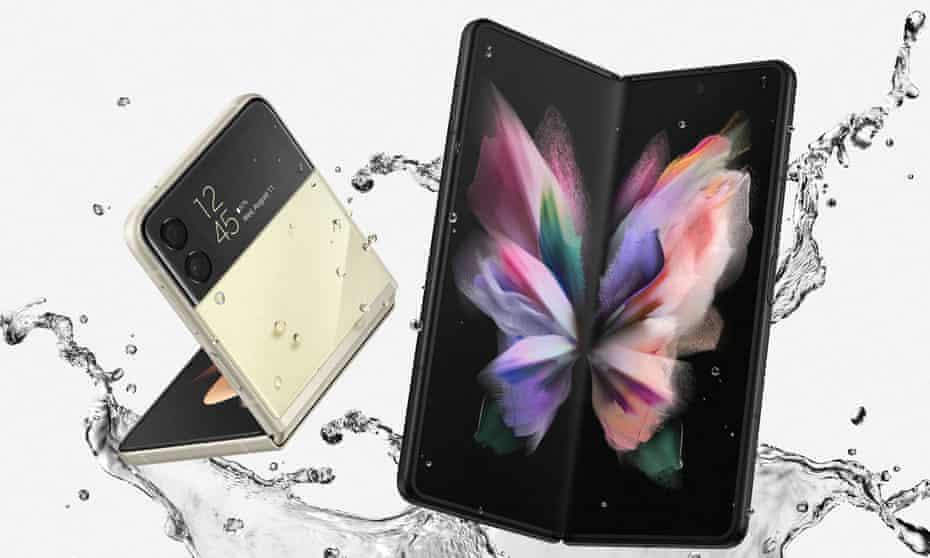 Samsung Galaxy Z Flip3 and Z Fold3