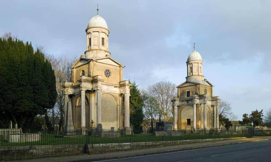 Mistley Towers - originally part of the Church of St Mary the Virgin: Mistley, Essex, UK.
