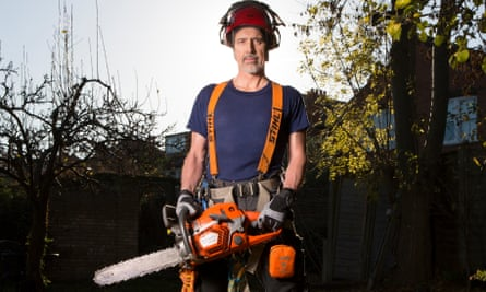 Kevin Curran swapped trade unionism for tree surgery.