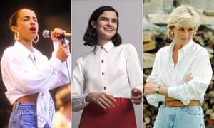 Sade, Sark's Fake Nail blouse and Princess Diana.