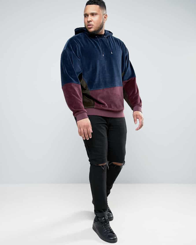 Scott Bayliss modelling for Asos Plus