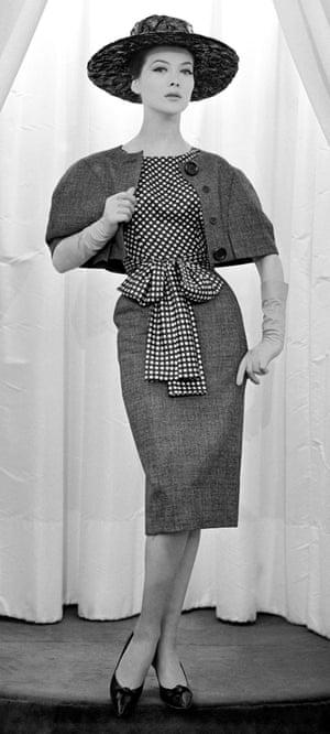 Skirt and bolero by Jules-François Crahay for Nina Ricci, 1960.