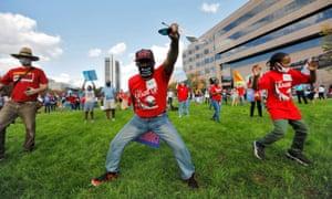 Biden supporters celebrate in Raleigh, North CarolinaSupporters.