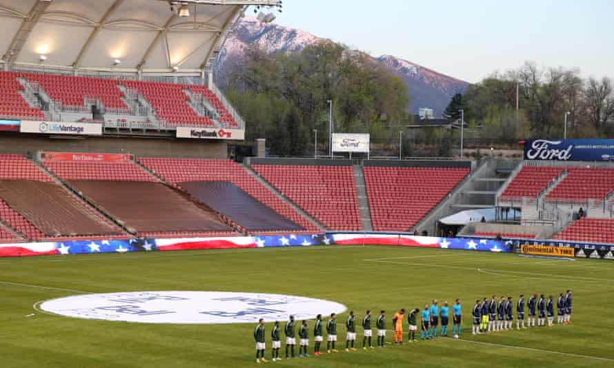 Rio Tinto Stadium guarantees great views, even if the soccer doesn't match the scenery