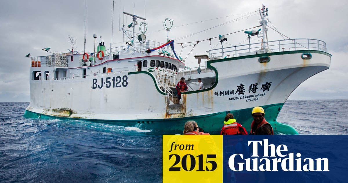 Huge pirate tuna fishing operation exposed in Pacific, says