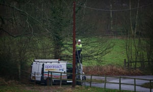 'Sometimes there's a lot of extra work needed to provide the connection, including providing a new telegraph pole,' says an Openreach spokesperson.