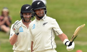 Kane Williamson and Ross Taylor (right)