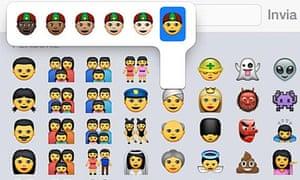 New Apple emoji