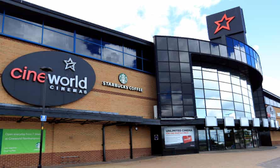 A Cineworld complex in the UK