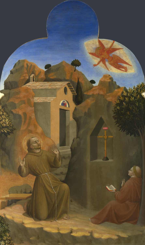 The Stigmatisation of Saint Francis by Sassetta.
