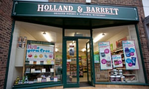 Holland & Barrett sold to Russian billionaire for £1 8bn