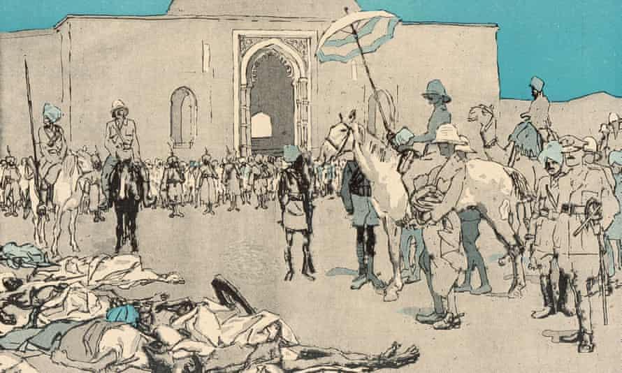 The Amritsar massacre, 13 April 1919.