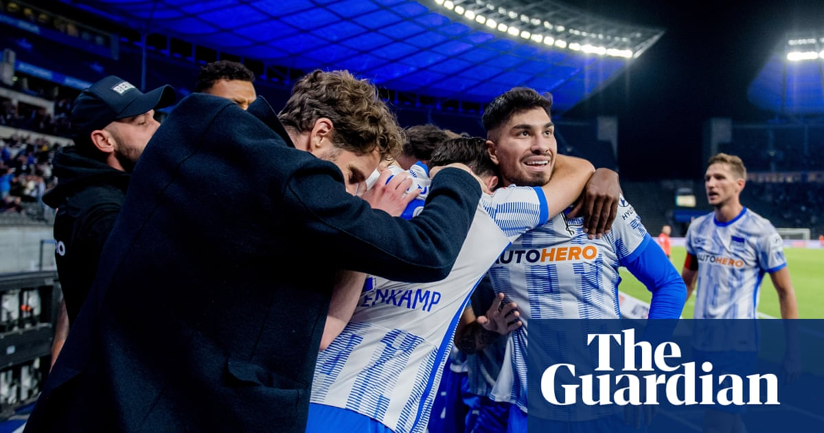 Hertha Berlin's long-mooted revamp is favouring humility over stardust