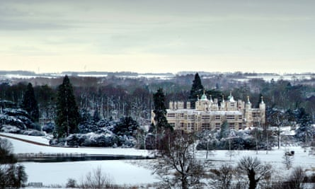 Not giving up the ghost story … Audley End House, in Essex, which inspired Sarah Perry's story.