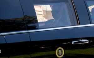 Biden arrives to meet Putin at Villa La Grange