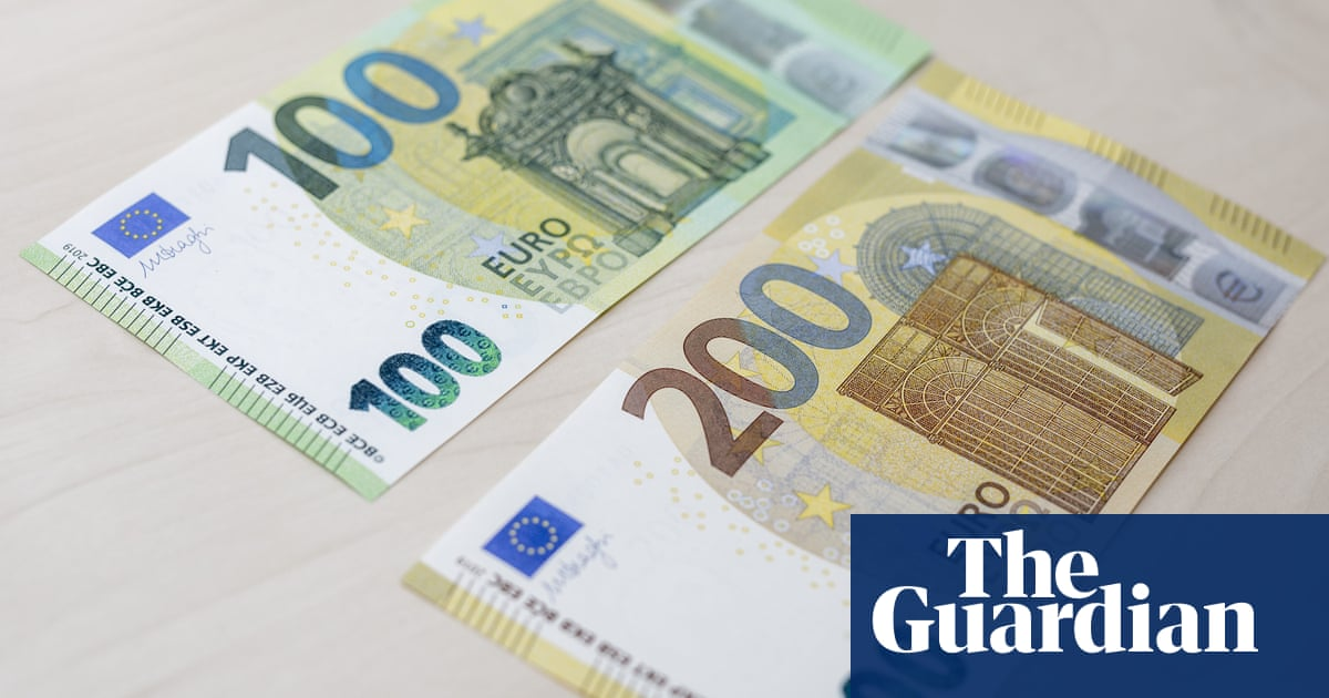 Beware high-value euro notes, British holidaymakers told | Money