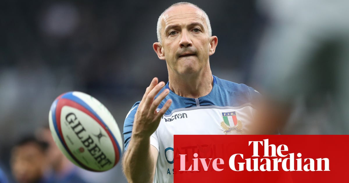 England v Italy: Rugby World Cup warm-up match –live!