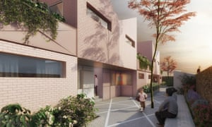 Croydon council's Brick by Brick project at Coldharbour Rd, by vPPR architects.