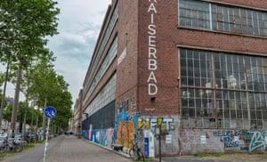 The Westwerk art centre buildings in Plagwitz, Leipzig.