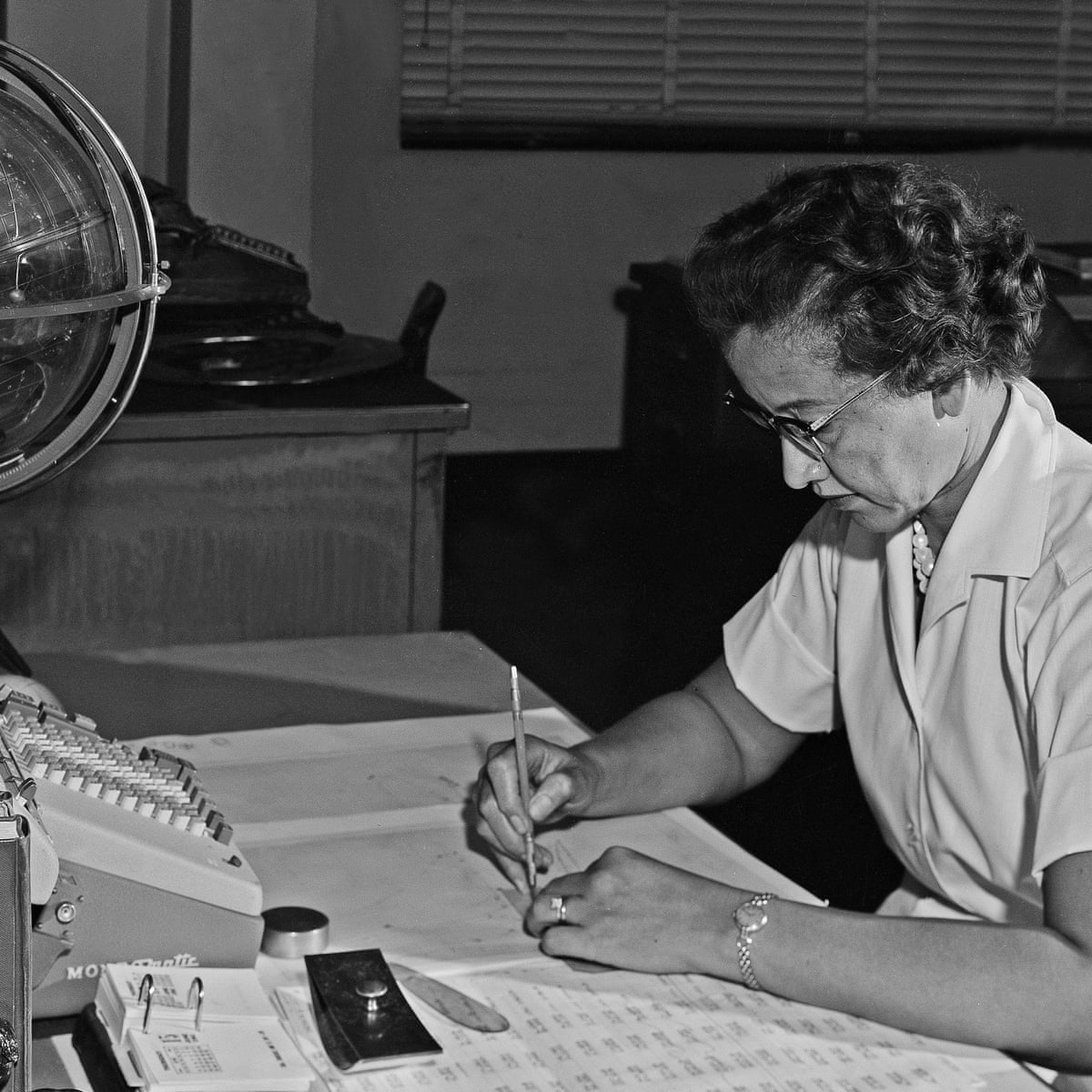 Katherine Johnson obituary | Science | The Guardian