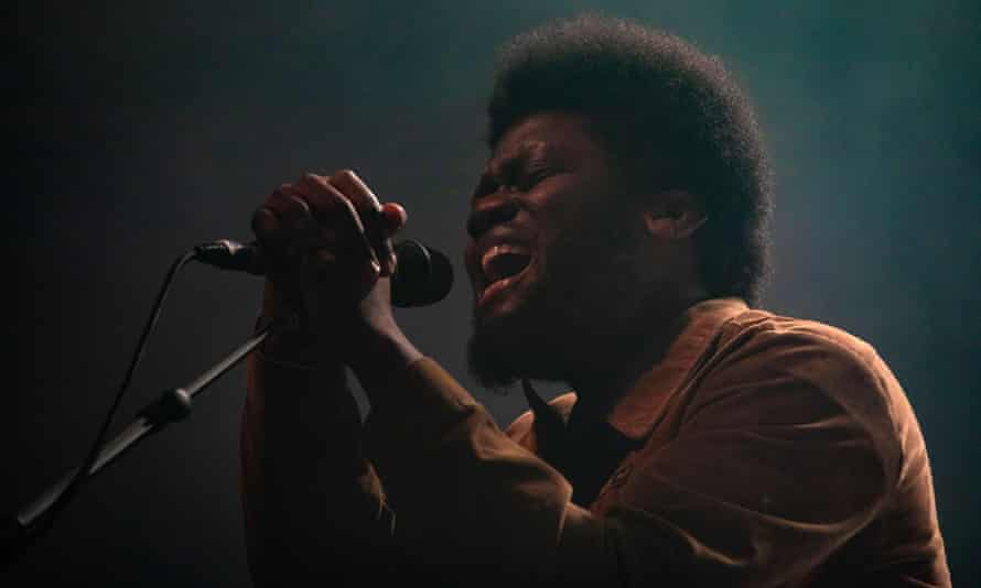 Michael Kiwanuka performing in Southampton, March 2020.