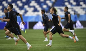 Luka Modric says Croatia's first target is to get out of a tricky group containing Nigeria, Argentina and Iceland.