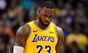 LeBron James's 26 points were not enough to save the Lakers