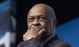 'Herman Cain is a great American who loves our country!' Donald Trump tweeted as he ended the prospect of him shaping US economic policy.
