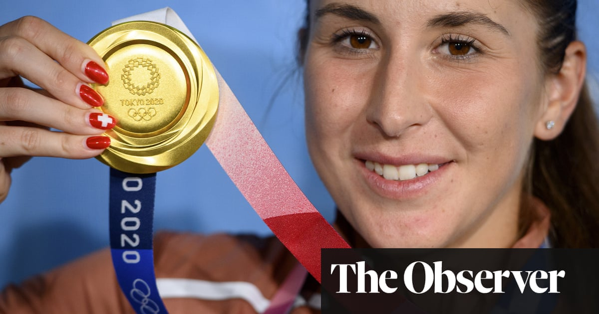 Bencic battles past Vondrousova to win Olympic gold in women's singles