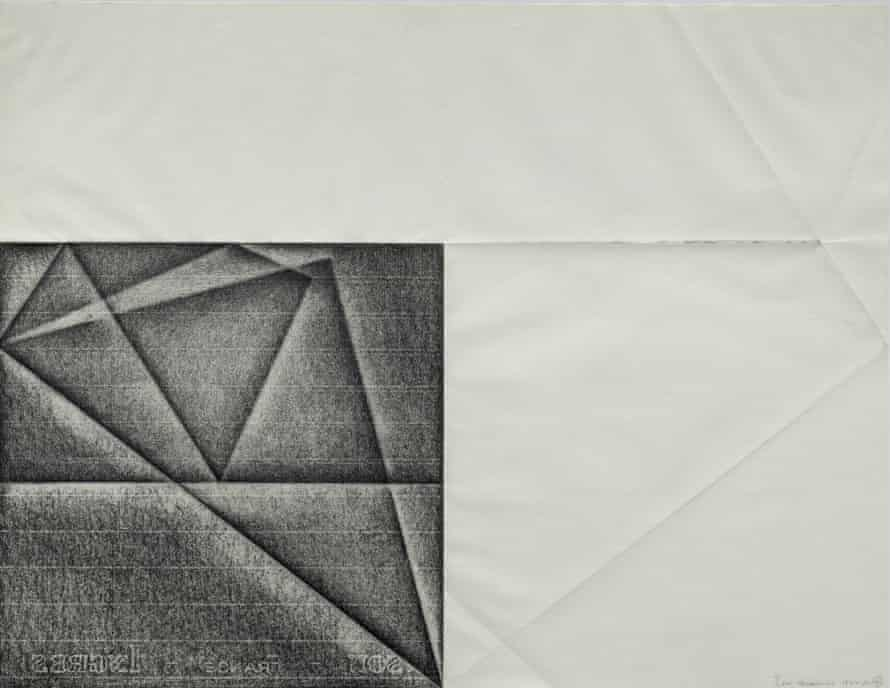 Hidden Structures, by Dora Maurer