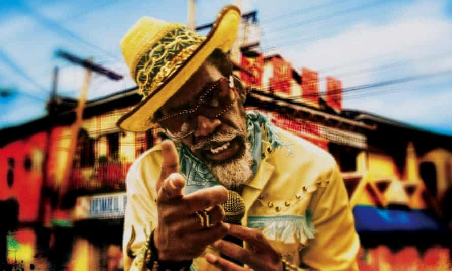 Bunny Wailer in the film Made in Jamaica.