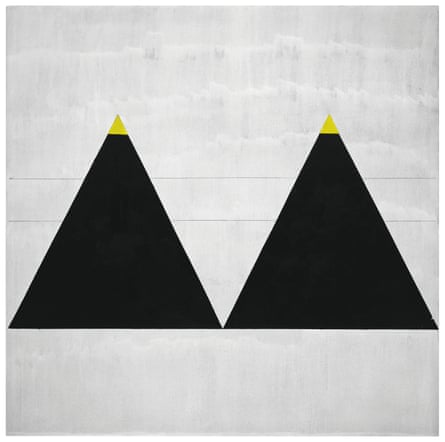 Untitled #1, 2003, by Agnes Martin.